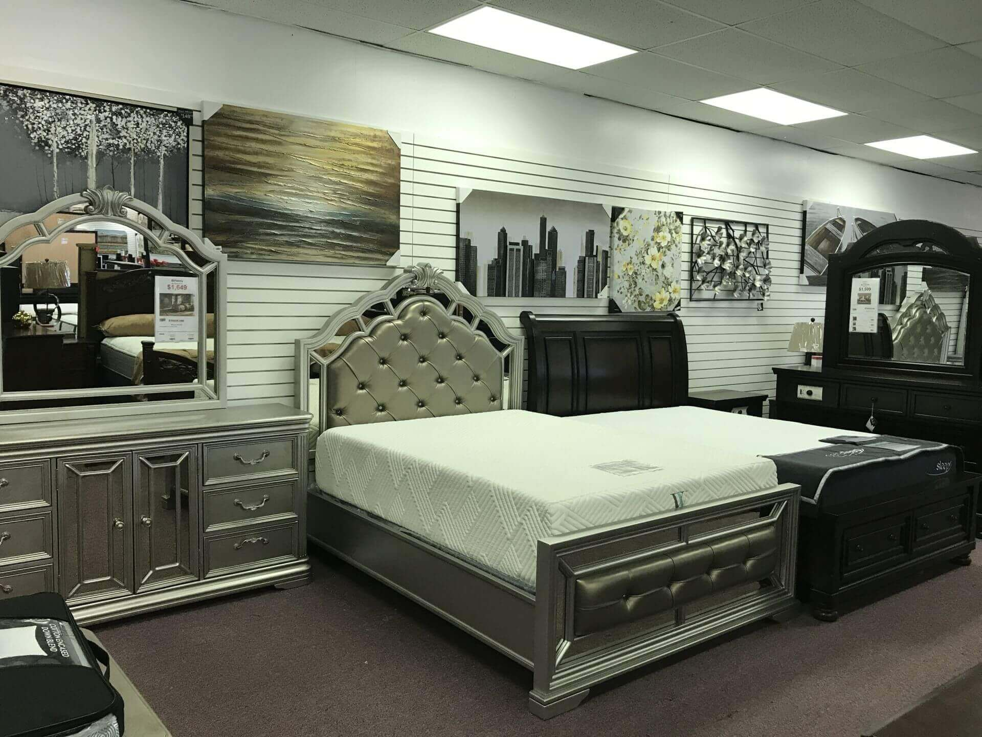 Home Furniture and More Showroom Interior